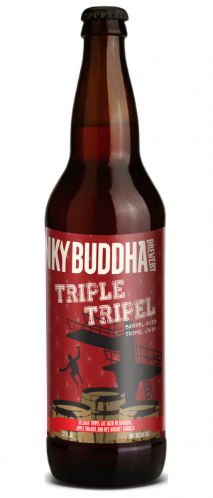 Triple Tripel by Funky Buddha Brewery in Florida, United States