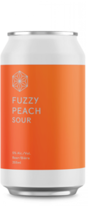 Fuzzy Peach Sour by Spectrum Beer Company in British Columbia, Canada