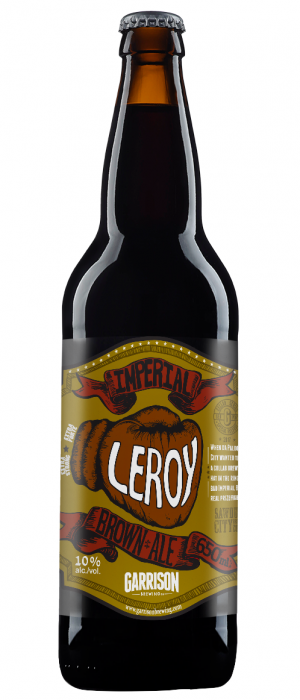 Leroy Imperial Brown by Garrison Brewing Company in Nova Scotia, Canada