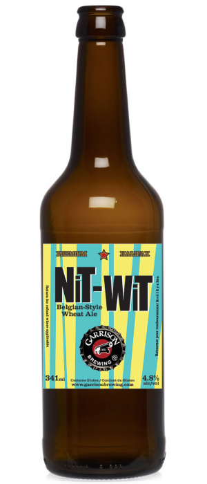 Nit Wit by Garrison Brewing Company in Nova Scotia, Canada