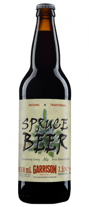 Spruce Beer by Garrison Brewing Company in Nova Scotia, Canada