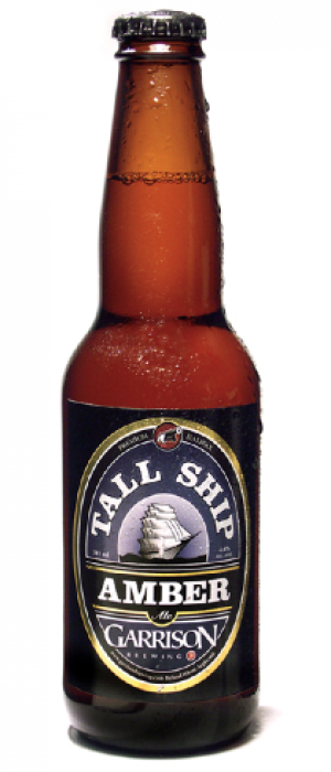 Tall Ship Amber Ale by Garrison Brewing Company in Nova Scotia, Canada