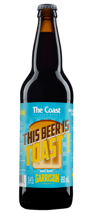 This Beer Is Toast by Garrison Brewing Company in Nova Scotia, Canada