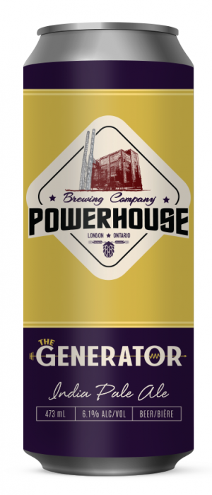 The Generator by Powerhouse Brewing Company in Ontario, Canada