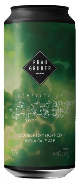 Genetically Green by FrauGruber Craft Brewing in Bavaria, Germany