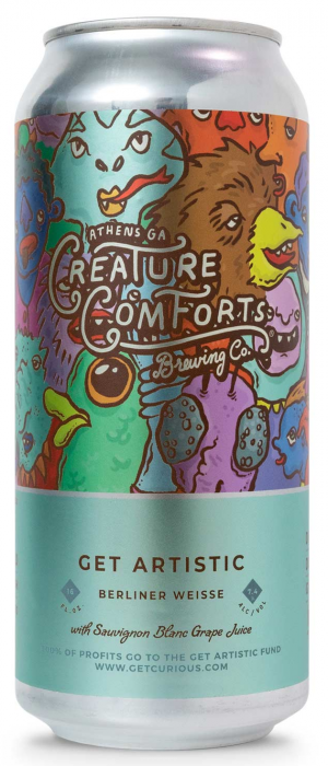 Get Artistic by Creature Comforts Brewing Co. in Georgia, United States