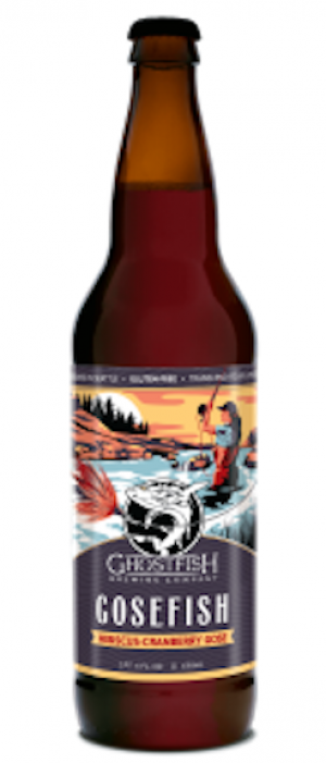 Gosefish Hibiscus-Cranberry Gose by Ghostfish Brewing Company in Washington, United States