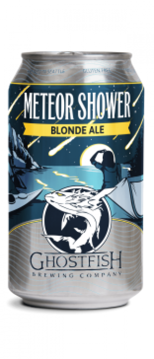 Meteor Shower Blonde Ale by Ghostfish Brewing Company in Washington, United States