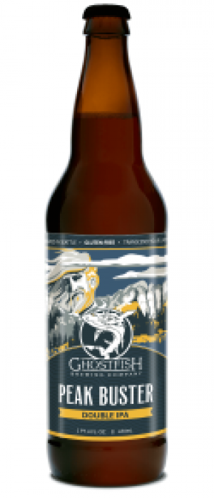 Peak Buster Double IPA by Ghostfish Brewing Company in Washington, United States