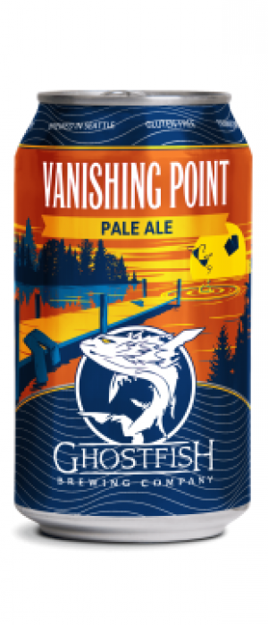 Vanishing Point Pale Ale by Ghostfish Brewing Company in Washington, United States