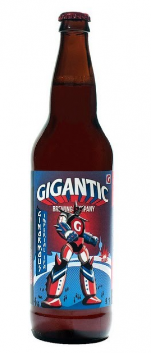 Ginormous Imperial IPA by Gigantic Brewing in Oregon, United States
