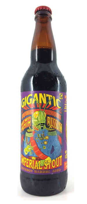 Most Most Premium Bourbon Barrel Aged Russian Imperial Stout by Gigantic Brewing in Oregon, United States