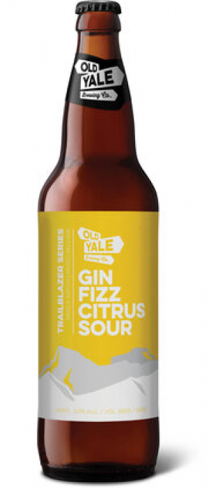 Gin Fizz Citrus Sour by Old Yale Brewing in British Columbia, Canada