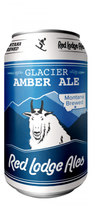 Glacier Amber Ale by Red Lodge Ales Brewing Company in Montana, United States