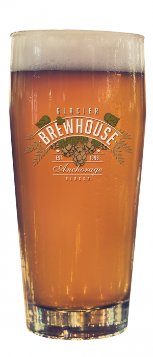 Bavarian Hefeweizen by Glacier BrewHouse in Alaska, United States