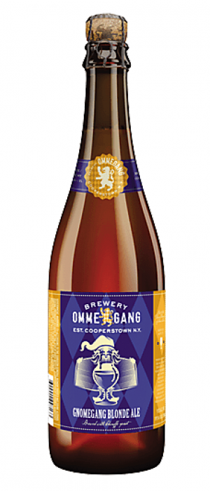 Gnomegang Blonde Ale by Brewery Ommegang in New York, United States