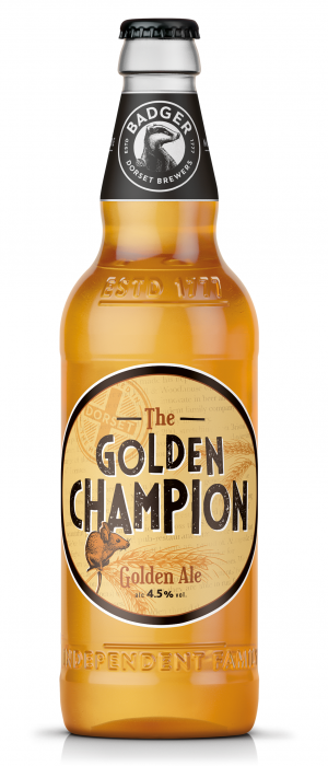 The Golden Champion by Hall & Woodhouse (Badger Ales) in Dorset - England, United Kingdom