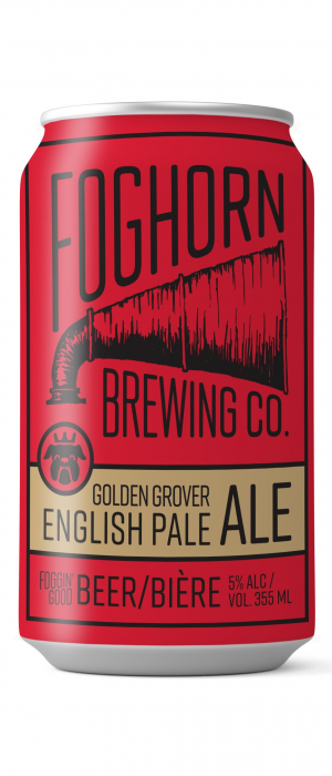 Golden Grover by Foghorn Brewing Company in New Brunswick, Canada