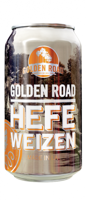 Golden Road Hefeweizen by Golden Road Brewing in California, United States