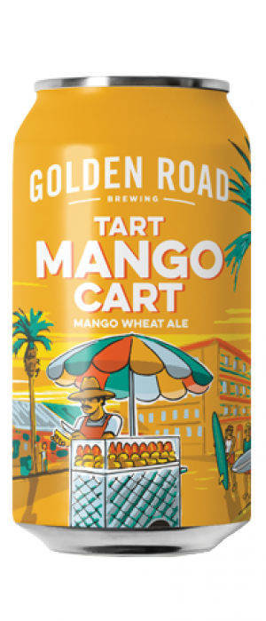 Mango Cart by Golden Road Brewing in California, United States
