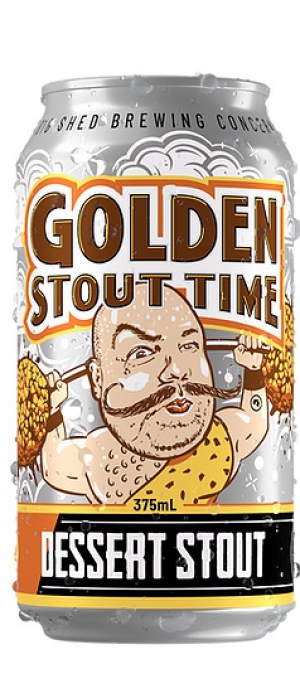 Golden Stout Time by Big Shed Brewing Co. in South Australia, Australia