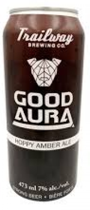 Good Aura by Trailway Brewing Co. in New Brunswick, Canada