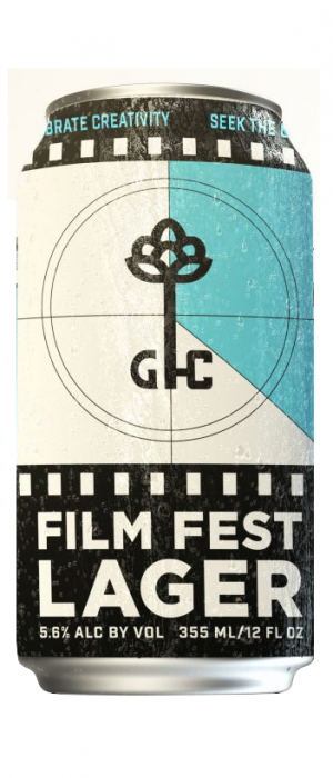 Film Fest Lager by Good City Brewing in Wisconsin, United States