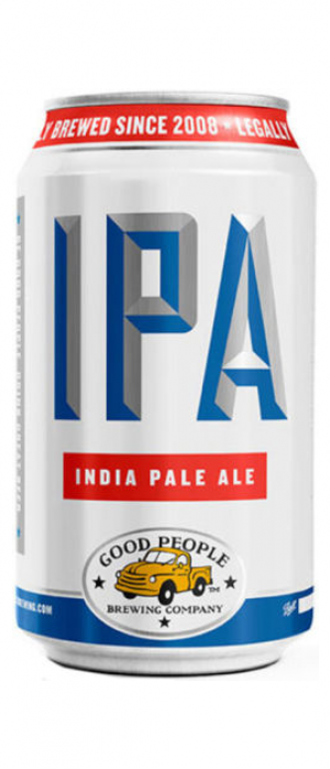 IPA by Good People Brewing Company in Alabama, United States