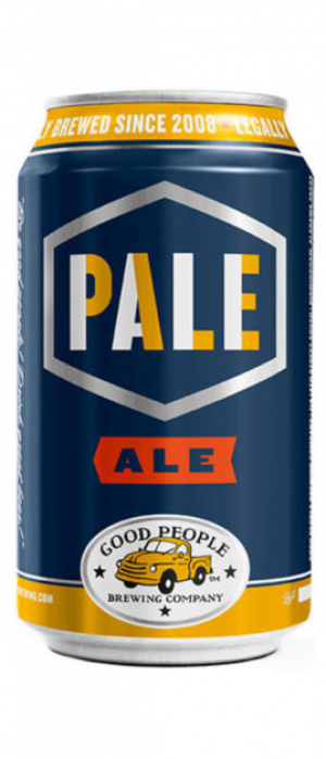 Pale Ale by Good People Brewing Company in Alabama, United States