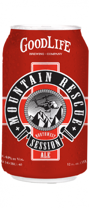 Mountain Rescue Session Ale by GoodLife Brewing in Oregon, United States