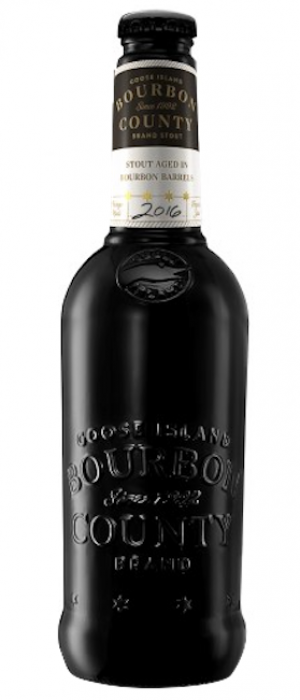 Bourbon County Brand Stout by Goose Island Beer Co. in Illinois, United States
