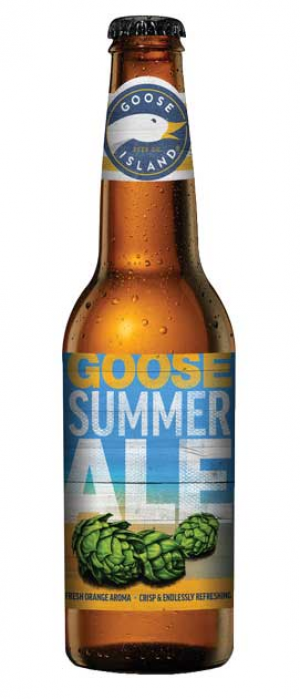 Goose Summer Ale by Goose Island Beer Co. in Illinois, United States