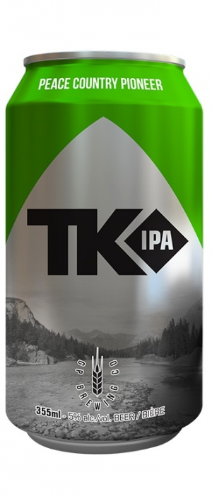 TK IPA by GP Brewing Co. in Alberta, Canada