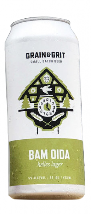 Bam Oida by Grain&Grit Beer Co. in Ontario, Canada
