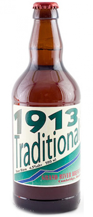 1913 Traditional by Grand River Brewing in Ontario, Canada
