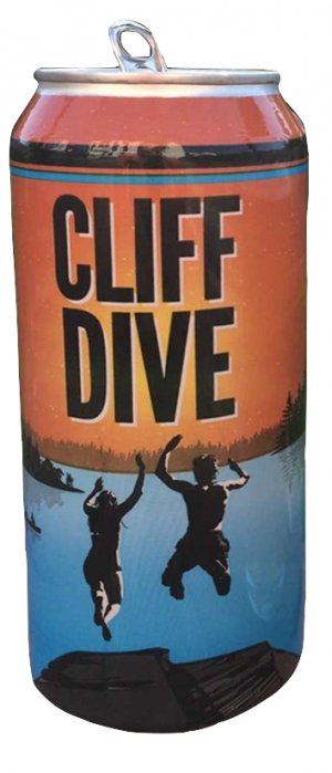 Cliff Dive by Grand River Brewing in Ontario, Canada