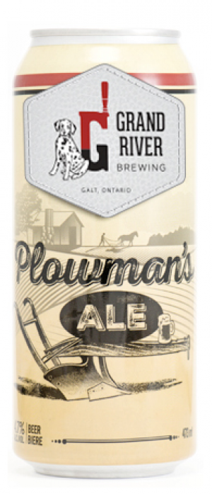 Plowman's Ale by Grand River Brewing in Ontario, Canada