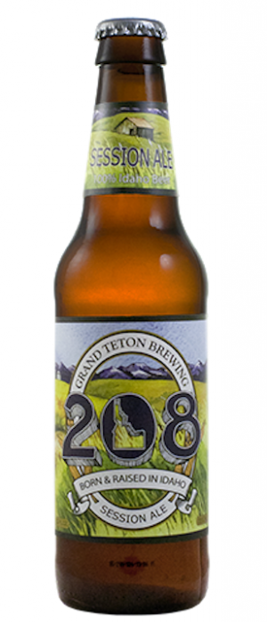 Ale 208 by Grand Teton Brewing in Idaho, United States