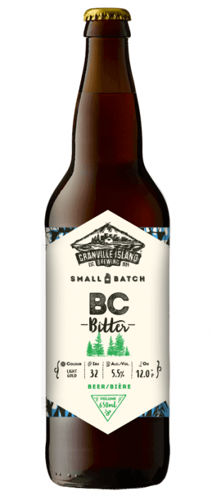 BC Bitter by Granville Island Brewing in British Columbia, Canada