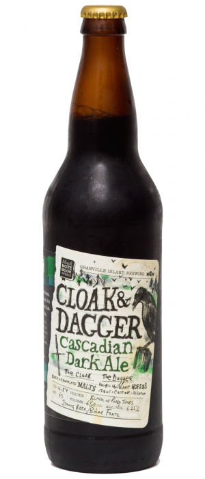 Cloak and Dagger Cascadian Dark Ale
