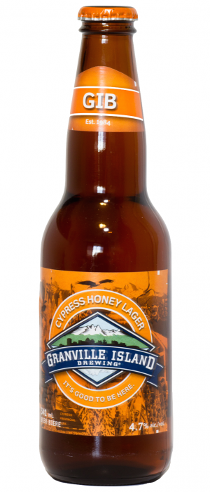 Cypress Honey Lager by Granville Island Brewing in British Columbia, Canada