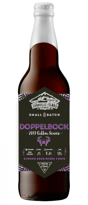 Dopplebock by Granville Island Brewing in British Columbia, Canada