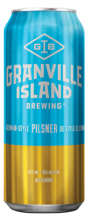 German-Style Pilsner by Granville Island Brewing in British Columbia, Canada