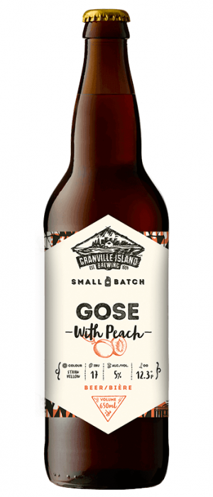 Gose With Peach