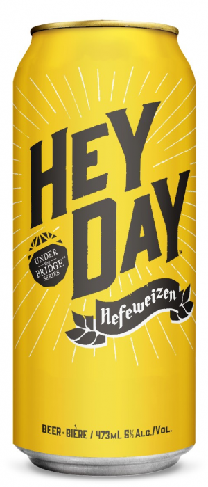 Hey Day Hefeweizen by Granville Island Brewing in British Columbia, Canada