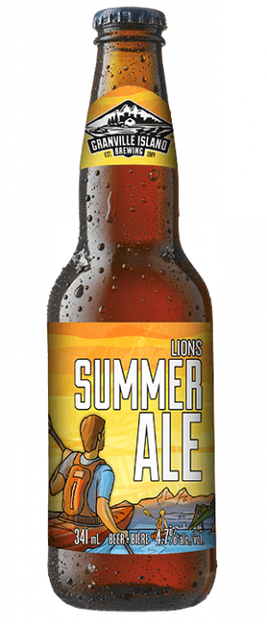 Lions Summer Ale by Granville Island Brewing in British Columbia, Canada