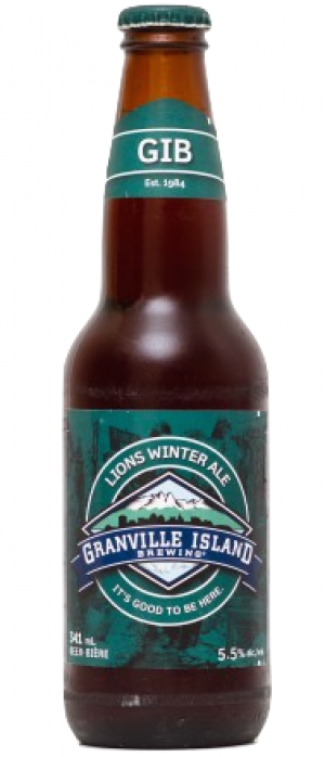 Lions Winter Ale by Granville Island Brewing in British Columbia, Canada