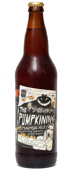 The Pumpkining Pumpkin Ale by Granville Island Brewing in British Columbia, Canada