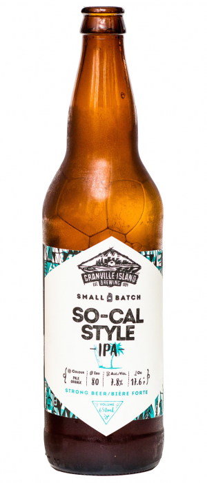 So-Cal Style IPA by Granville Island Brewing in British Columbia, Canada