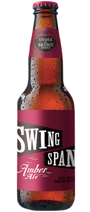 Swing Span Amber Ale by Granville Island Brewing in British Columbia, Canada